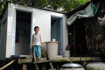 nhà vệ sinh nông thôn
