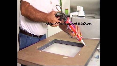 2/ Cách lắp đặt chậu rửa mặt âm bàn