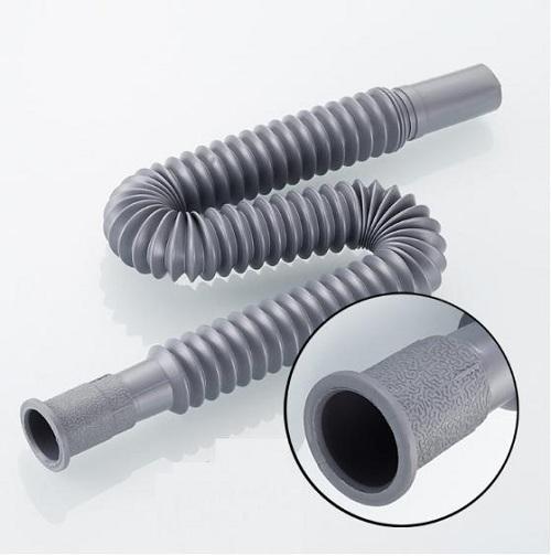 Đoạn ống mềm gây tắc ống nước bồn rửa bát