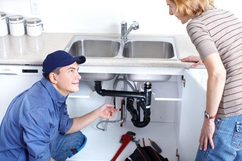 thông tắc ống nước bồn rửa bát phần cứng