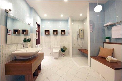 Làm sao để thiết kế nhà vệ sinh nhỏ mà đẹp