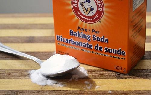 khử mùi hôi bằng baking soda